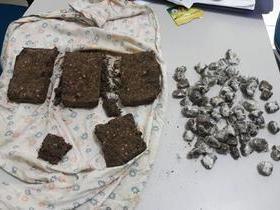Droga é encontrada enterrada e traficante é preso no Piauí