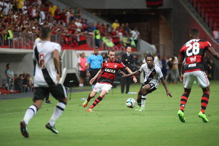 Flamengo e Vasco ficaram no empate
