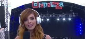 No Lolla, apresentadora chama DJ de machista e babaca; veja vídeo