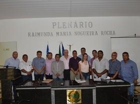 Marcos defende alargamento da BR-135 durante encontro de prefeitos
