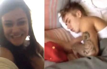 Morena que dormiu com Bieber recebe convite da produção do cantor