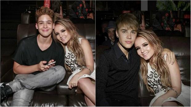 Larissa Manoela posta montagem com Bieber e causa polêmica na web