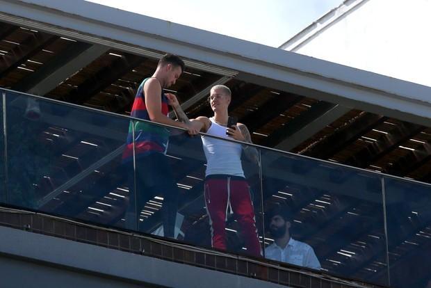 Justin Bieber em hotel carioca