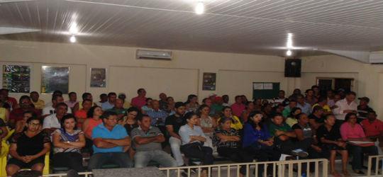 Audiência pública sobre o matadouro é realizada em Santo Inácio