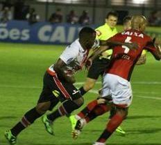 River perde para o Vitória-BA no jogo de ida das quartas de final