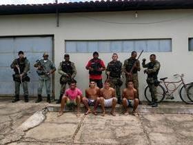 Polícia apreende quadrilha que invadia residências em União