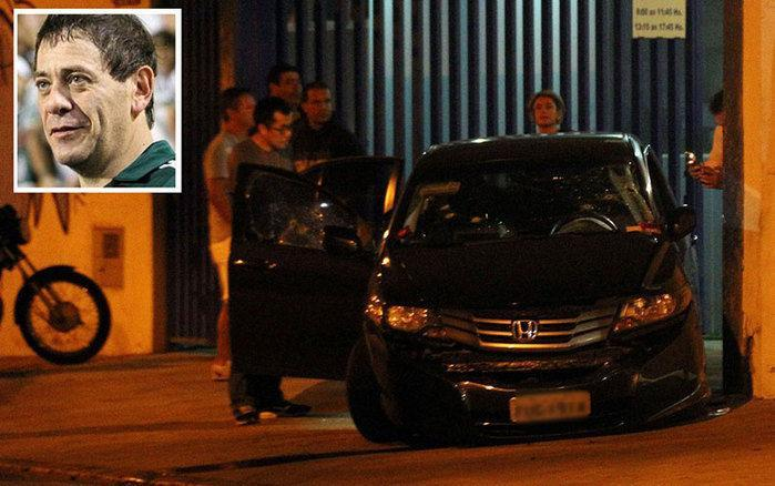 Bianchi, foi executado dentro do seu carro