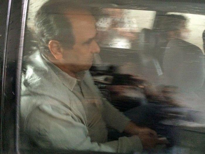 José Gomes Graciosa chega à sede da Polícia Federal