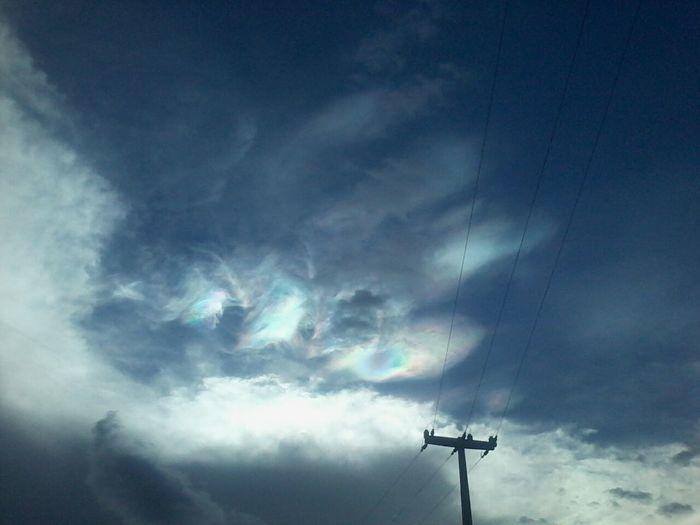 Fenômeno no céu de Lagoa do Sítio intriga moradores (Crédito: Alderismar/Arquivo Pessoal)