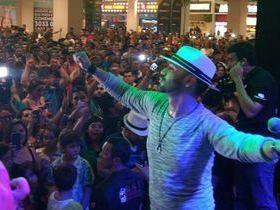Felipão volta aos palcos neste sábado em show em Fortaleza