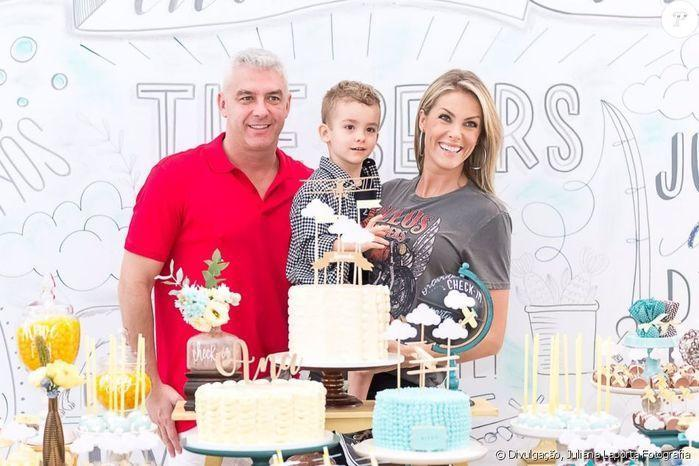 Ana Hickmann faz festa de aniversário tripla com filho e sobrinho
