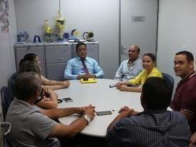 Vereadores de Valença se reúnem com gerente do Banco do Brasil