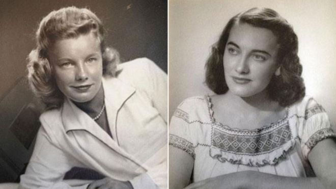 Martha Young Williams (esquerda) e Jean Young Haley viviam em região isolada da cidade (Crédito: Reprodução)
