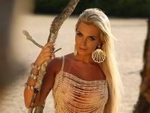 Veridiana Freitas posa sensual e dispara: 'Quero ser apresentadora'