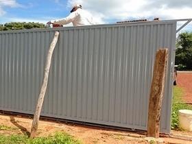 Município realiza manutenção no matadouro público