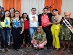 CRAS realiza Tarde de Alegria para os idosos de Dom Expedito Lopes