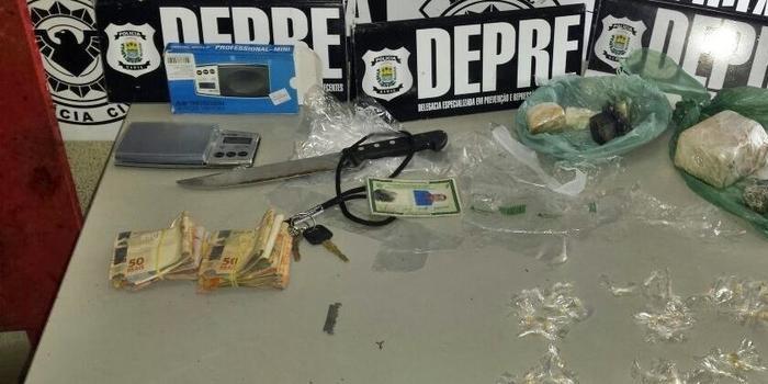 Homem é preso em Teresina com droga avaliada em R$ 50 mil