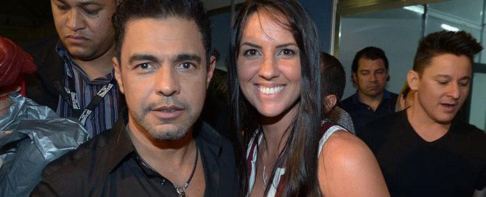 Zezé Di Camargo nega celular de última geração para sua namorada