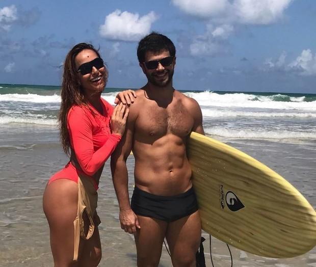 Sabrina Sato e e o namorado, o ator Duda Nagle (Crédito: Divulgação)