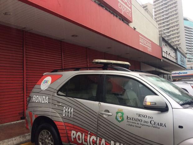 Caso ocorreu no bairo Meireles (Crédito:  João Pedro Ribeiro/TV Verdes Mares)