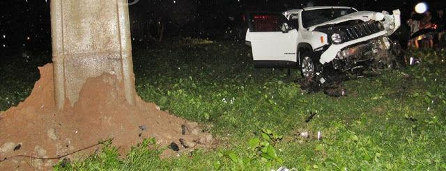 Veículo envolvido no acidente (Crédito: Blog do Pessoa)