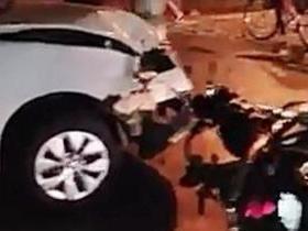 Colisão entre carro e moto deixa um ferido no interior do Piauí