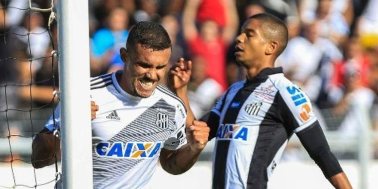 Ponte Preta vence Santos e sai na vantagem para quartas de final