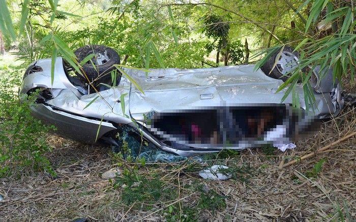 Quatro enfermeiras morreram em grave acidente na BR-101, na manhã desta segunda-feira (Crédito: Reprodução)