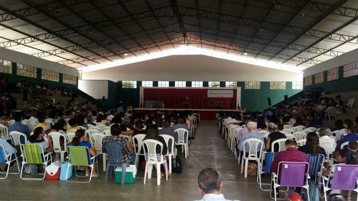 Mais de 500 pessoas de diversas cidades estiveram presentes na ocasião (Crédito: Assessoria )