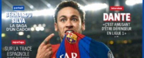 France Football diz que Neymar é favorito para a Bola Ouro