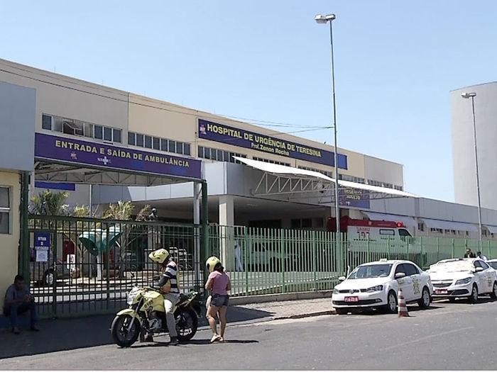 Hospital de Urgência de Teresina (Crédito: Reprodução)