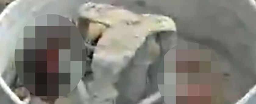 Meninas de 3 anos morrem após caírem em máquina de cimento