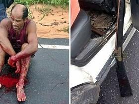 Homem atira contra enteado no MA e na fuga é baleado pela polícia