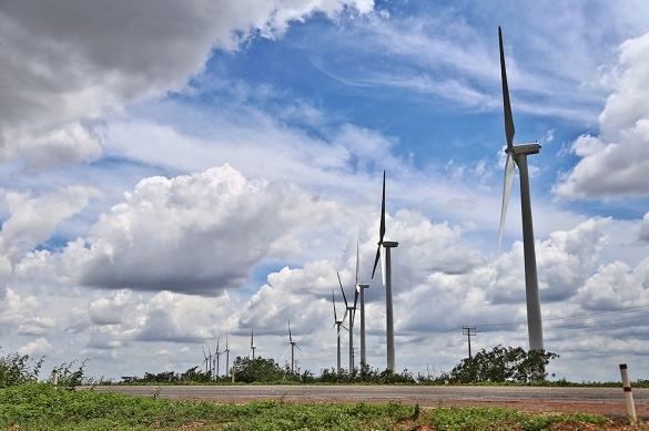 Parque de energia eólica (Crédito: o:Marcelo Cardoso)
