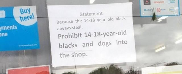 """Loja é criticada por proibição a jovens negros: """"Sempre roubam"""""""