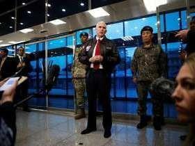 Mike Pence: 'Paciência dos EUA em relação à Coreia do Norte acabou'