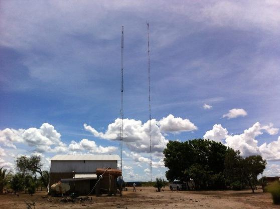Sede da Fazenda Nossa Senhora Aparecida, na Serra do Livramento