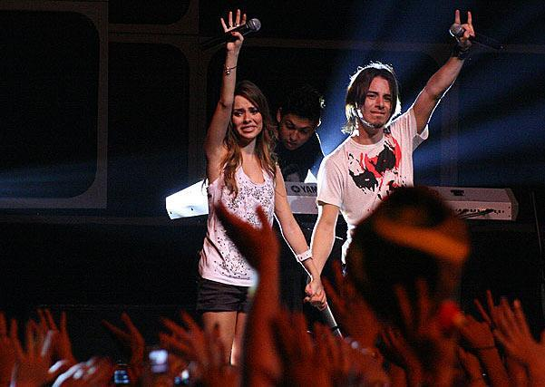 Sandy & Junior no show de despedida