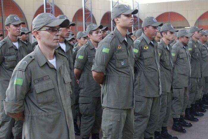 Polícia Militar é uma das categorias a receber o reajuste (Crédito: Reprodução)