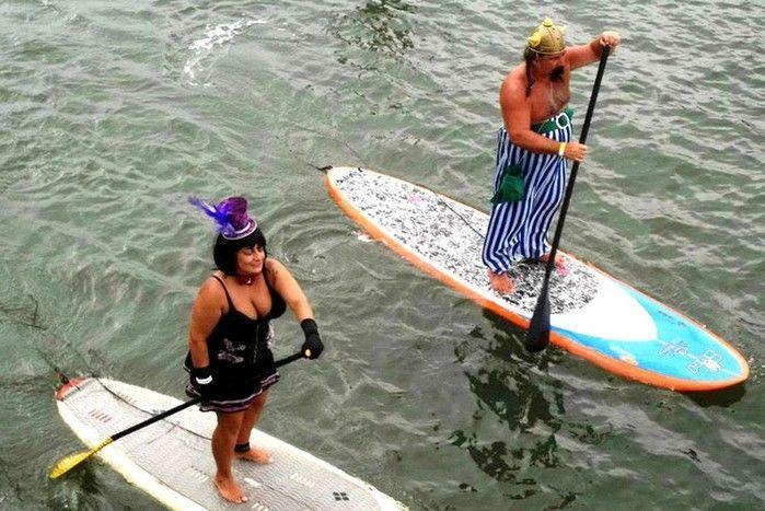 Marido e mulher participavam de eventos de surfe na região (Crédito: Reprodução)