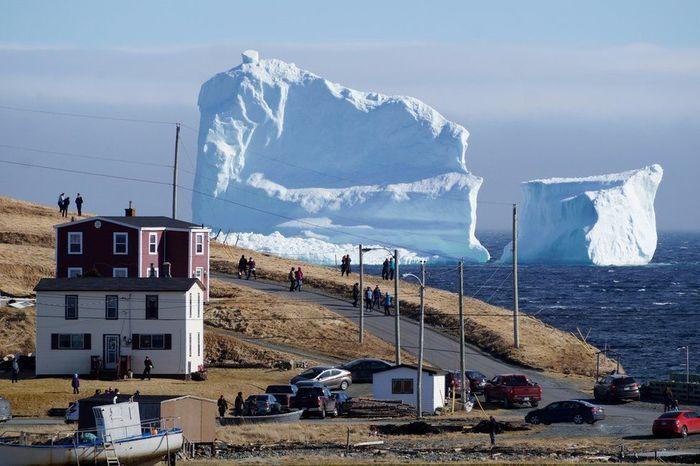 Cidade do Canadá fica na rota de icebergs (Crédito: Reuters)