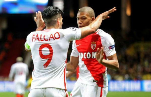 Mbappé e Falcao infernizaram os alemães  (Crédito: Reprodução)