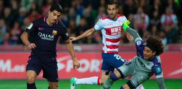 Neymar marca seu 100º gol pelo Barça e ajuda time a golear Granada
