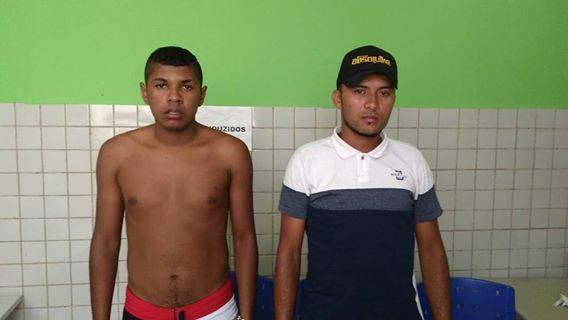 Polícia prende dois jovens suspeitos de tráfico de drogas