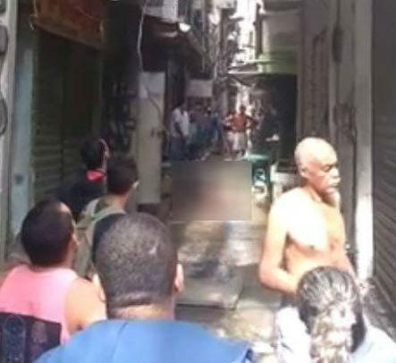 Correria no prédio em Rio das Pedras (Crédito: Reprodução)