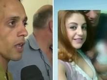 Homem acusado de matar esposa é preso e diz que crime 'aconteceu'
