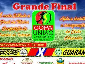 Final da Copa União será Sábado com previsão de recorde de público