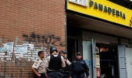 Saque a padaria e protestos deixam mortos na Venezuela