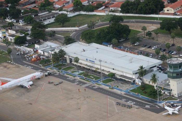 Aeroporto de Teresina Petrônio Portela (Crédito: Reprodução)