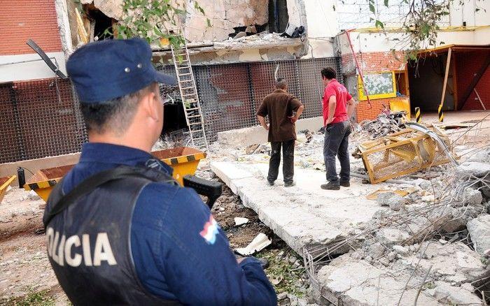 Assalto a uma transportadora de valores em Ciudad del Este, no Paraguai